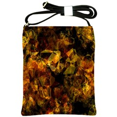 Autumn Colors In An Abstract Seamless Background Shoulder Sling Bags by Nexatart