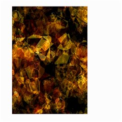 Autumn Colors In An Abstract Seamless Background Large Garden Flag (two Sides)