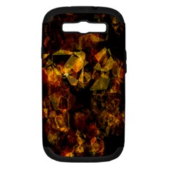 Autumn Colors In An Abstract Seamless Background Samsung Galaxy S Iii Hardshell Case (pc+silicone) by Nexatart