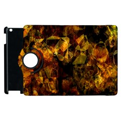 Autumn Colors In An Abstract Seamless Background Apple Ipad 3/4 Flip 360 Case by Nexatart