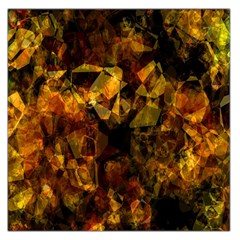 Autumn Colors In An Abstract Seamless Background Large Satin Scarf (square)