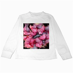 Raspberry Delight Kids Long Sleeve T Shirts