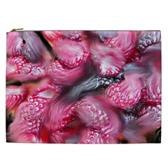 Raspberry Delight Cosmetic Bag (xxl)  by Nexatart