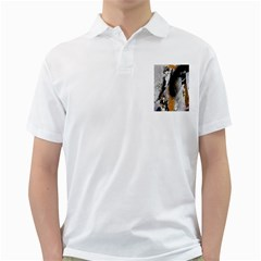 Abstract Graffiti Background Golf Shirts
