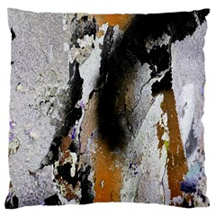Abstract Graffiti Background Standard Flano Cushion Case (one Side) by Nexatart
