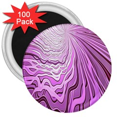 Light Pattern Abstract Background Wallpaper 3  Magnets (100 Pack)