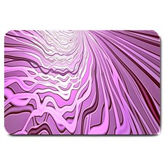 Light Pattern Abstract Background Wallpaper Large Doormat