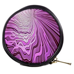 Light Pattern Abstract Background Wallpaper Mini Makeup Bags by Nexatart