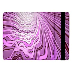 Light Pattern Abstract Background Wallpaper Samsung Galaxy Tab Pro 12 2  Flip Case by Nexatart