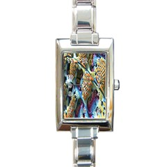 Background, Wallpaper, Texture Rectangle Italian Charm Watch by Nexatart