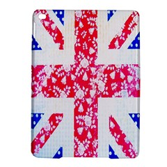 British Flag Abstract British Union Jack Flag In Abstract Design With Flowers Ipad Air 2 Hardshell Cases by Nexatart