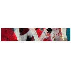 Abstract Graffiti Background Wallpaper Of Close Up Of Peeling Flano Scarf (large) by Nexatart