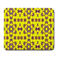 Yellow Seamless Wallpaper Digital Computer Graphic Large Mousepads by Nexatart