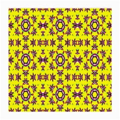 Yellow Seamless Wallpaper Digital Computer Graphic Medium Glasses Cloth (2 Side) by Nexatart