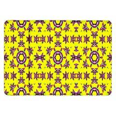 Yellow Seamless Wallpaper Digital Computer Graphic Samsung Galaxy Tab 8 9  P7300 Flip Case by Nexatart