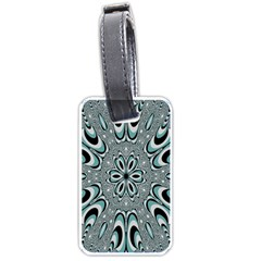 Kaleidoskope Digital Computer Graphic Luggage Tags (two Sides) by Nexatart