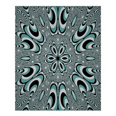 Kaleidoskope Digital Computer Graphic Shower Curtain 60  X 72  (medium)  by Nexatart
