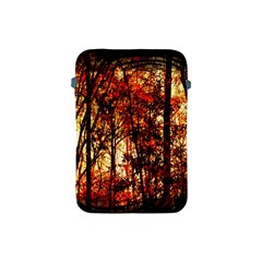 Forest Trees Abstract Apple Ipad Mini Protective Soft Cases by Nexatart