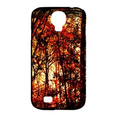 Forest Trees Abstract Samsung Galaxy S4 Classic Hardshell Case (pc+silicone) by Nexatart