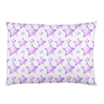 Lilac Stars Pillow Case (Two Sides) Front