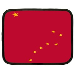 Alaska Star Red Yellow Netbook Case (large) by Jojostore