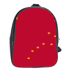 Alaska Star Red Yellow School Bags(large)
