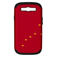 Alaska Star Red Yellow Samsung Galaxy S Iii Hardshell Case (pc+silicone) by Jojostore