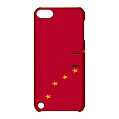 Alaska Star Red Yellow Apple Ipod Touch 5 Hardshell Case With Stand by Jojostore