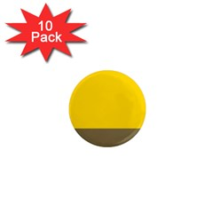 Trolley Yellow Brown Tropical 1  Mini Magnet (10 Pack)  by Jojostore