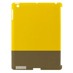 Trolley Yellow Brown Tropical Apple Ipad 3/4 Hardshell Case (compatible With Smart Cover) by Jojostore