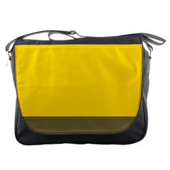 Trolley Yellow Brown Tropical Messenger Bags
