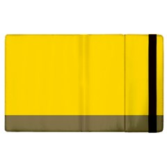 Trolley Yellow Brown Tropical Apple Ipad 3/4 Flip Case