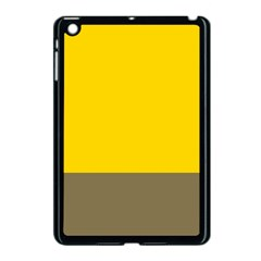 Trolley Yellow Brown Tropical Apple Ipad Mini Case (black) by Jojostore