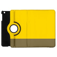 Trolley Yellow Brown Tropical Apple Ipad Mini Flip 360 Case by Jojostore