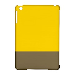 Trolley Yellow Brown Tropical Apple Ipad Mini Hardshell Case (compatible With Smart Cover) by Jojostore