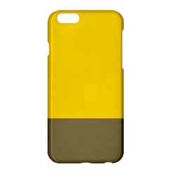 Trolley Yellow Brown Tropical Apple Iphone 6 Plus/6s Plus Hardshell Case by Jojostore