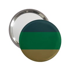 Blue Green Brown 2 25  Handbag Mirrors by Jojostore