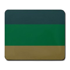 Blue Green Brown Large Mousepads by Jojostore