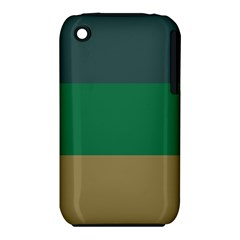 Blue Green Brown Iphone 3s/3gs by Jojostore