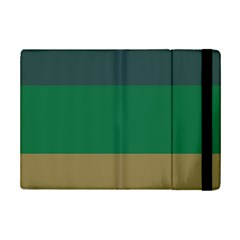 Blue Green Brown Ipad Mini 2 Flip Cases by Jojostore