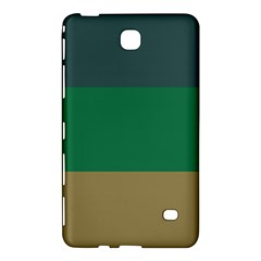 Blue Green Brown Samsung Galaxy Tab 4 (7 ) Hardshell Case  by Jojostore