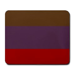 Brown Purple Red Large Mousepads by Jojostore