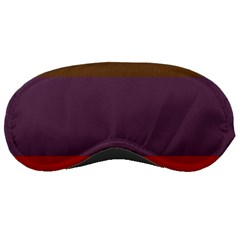 Brown Purple Red Sleeping Masks