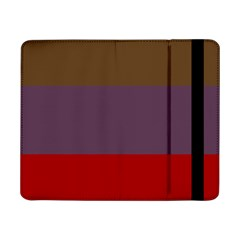 Brown Purple Red Samsung Galaxy Tab Pro 8 4  Flip Case by Jojostore