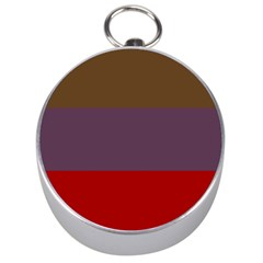 Brown Purple Red Silver Compasses by Jojostore