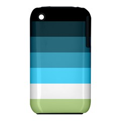 Line Color Black Green Blue White Iphone 3s/3gs by Jojostore