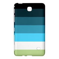 Line Color Black Green Blue White Samsung Galaxy Tab 4 (8 ) Hardshell Case  by Jojostore