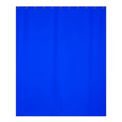 Plain Blue Shower Curtain 60  X 72  (medium)  by Jojostore