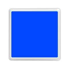 Plain Blue Memory Card Reader (square)  by Jojostore