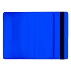 Plain Blue Samsung Galaxy Tab Pro 12 2  Flip Case by Jojostore